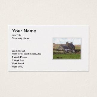 Chambre irlandaise abandonnée cartes de visite