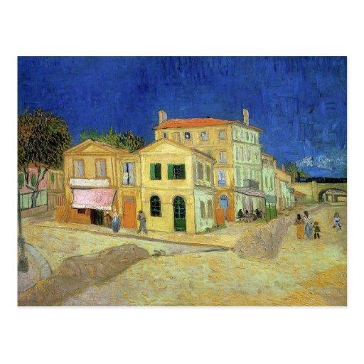 Chambre jaune par Van Gogh Carte Postale