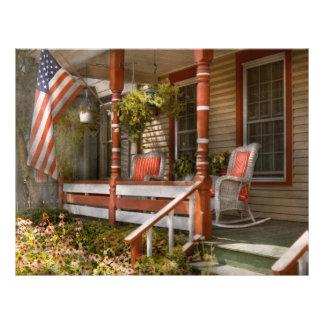 Chambre - porche - Américain traditionnel Prospectus 21,6 Cm X 24,94 Cm