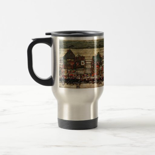 Chambres d'Egon Schiele- avec la blanchisserie (Se Tasse À Café