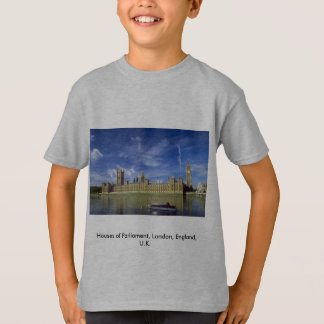 Chambres du Parlement, Londres, Angleterre, R-U T-shirt