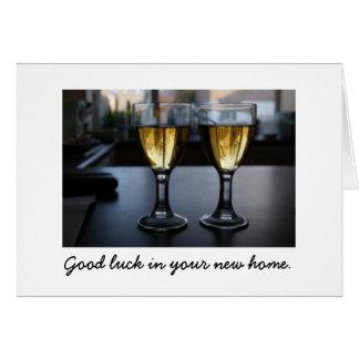 Chambres en verre :  Bonne chance dans votre Carte De Vœux