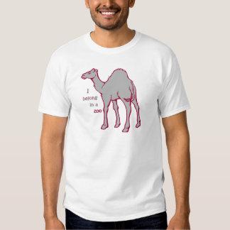 Chameau de zoo t-shirts
