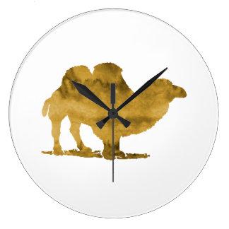 Chameau Grande Horloge Ronde