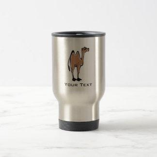 Chameau mignon ; Métal-regard Mug De Voyage