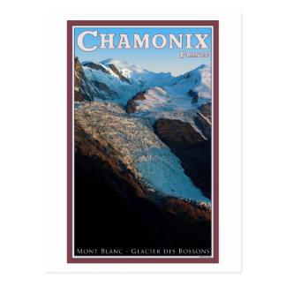 Chamonix - DES Bossons de glacier Carte Postale