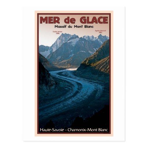 Chamonix - Mer de Glace Carte Postale