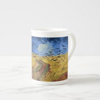 Champ de blé avec des corneilles par Van Gogh Mug