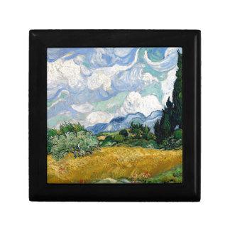Champ de blé de Vincent van Gogh avec l'art de Boîte À Souvenirs