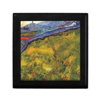 Champ de blé de Vincent van Gogh avec Soleil Boîte À Souvenirs