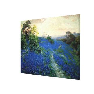Champ de Bluebonnet, peinture de Julian Onderdonk Toiles