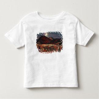 Champ de maïs par le clair de lune, 1830 t-shirt pour les tous petits