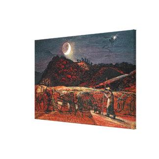 Champ de maïs par le clair de lune, 1830 toiles