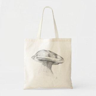 Champignon champignon de pierre dessin sac en toile