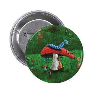 Champignon magique badge