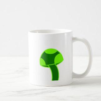 Champignon repéré par vert mug