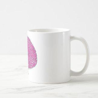 Champignon rose magique mug