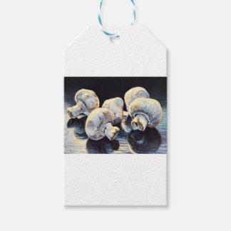 Champignons de clair de lune étiquettes-cadeau