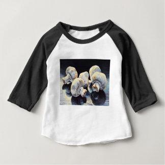Champignons de clair de lune t-shirt pour bébé