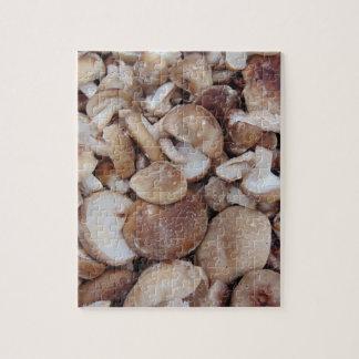 Champignons de shiitaké puzzle