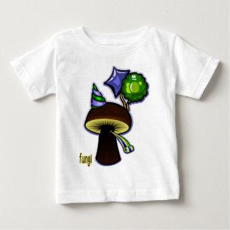 Champignons - mauvaise bande dessinée de calembour t-shirt pour bébé