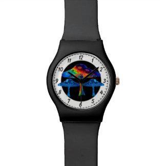 Champignons psychédéliques montres