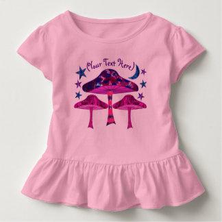 Champignons psychédéliques t-shirt pour les tous petits