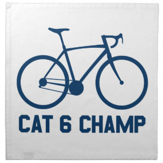 Champion de CAT 6 Serviettes En Tissus