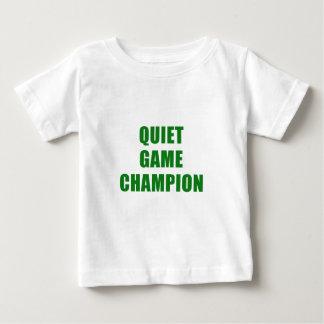 Champion de jeu tranquille t-shirt pour bébé