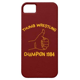 champion de lutte 1984 de pouce coque iPhone 5 Case-Mate