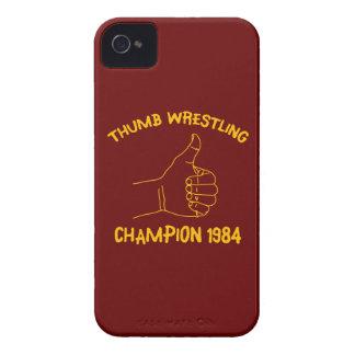 champion de lutte 1984 de pouce étuis iPhone 4