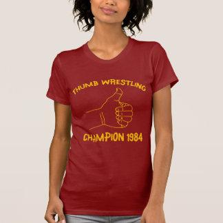 champion de lutte 1984 de pouce t-shirt