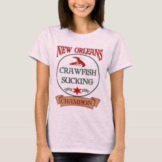 Champion d'écrevisses de la Nouvelle-Orléans T-shirt