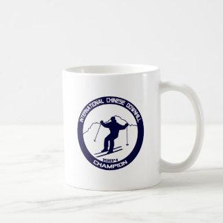 Champion incliné 1984 de Chinois international Mug