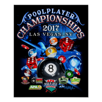 Championnats 2017 d'APA Las Vegas Poster