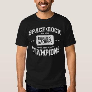 Champions de roche de l'espace t-shirt