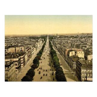 Champions Elysees, une avenue, Paris, France P Carte Postale