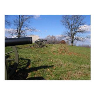 Champs de bataille de Gettysburg Carte Postale