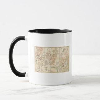 Champs de bataille Nashville, Tenn Mug