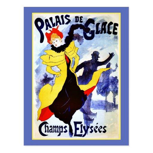 Champs Elysées de Palais de Glace Cartes Postales