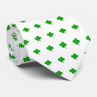 Chance de la cravate de shamrock du jour de St