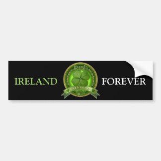 Chance de l'Irlandais - le jour de St Patrick Autocollant De Voiture