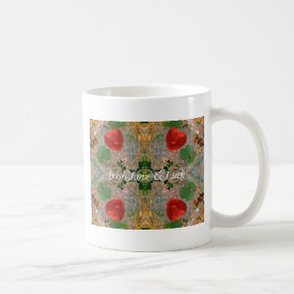 Chance et amour irlandais mug blanc