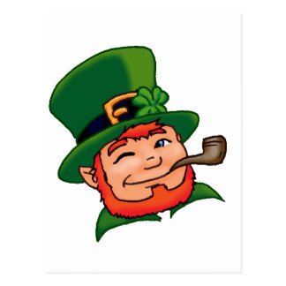 Chance O l'Irlandais Carte Postale