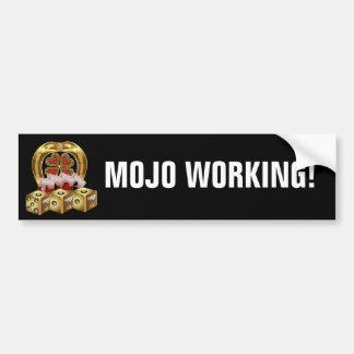 Chance rapide Mojo Workin de Mojo ! Autocollant Pour Voiture