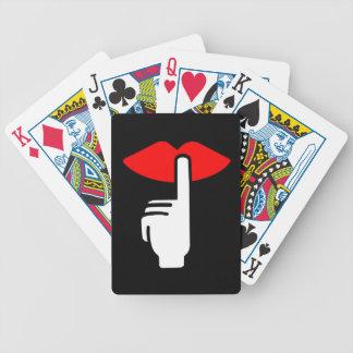 Chanceux aux cartes de jeu d'amour jeu de cartes