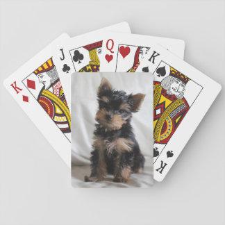 Chanceux les cartes de jeu japonaises de Yorkie Jeux De Cartes
