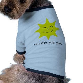 Chandail bleu de chien de sonnerie d'ODAAT Vêtements Pour Chien
