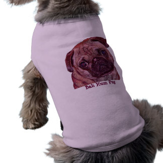 """Chandail de chien de """"carlin de bourdonnement de B T-shirt Pour Chien"""