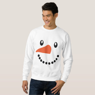 Chandail de pullover de Noël du bonhomme de neige